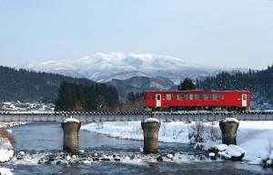 内陸線雪見列車